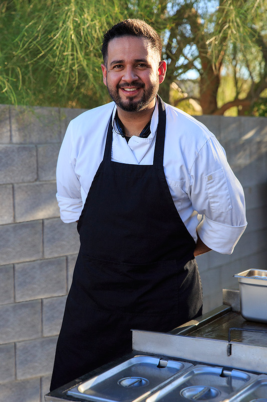 "Chef Wil Guevara of ""Vegas Taco Bar""."