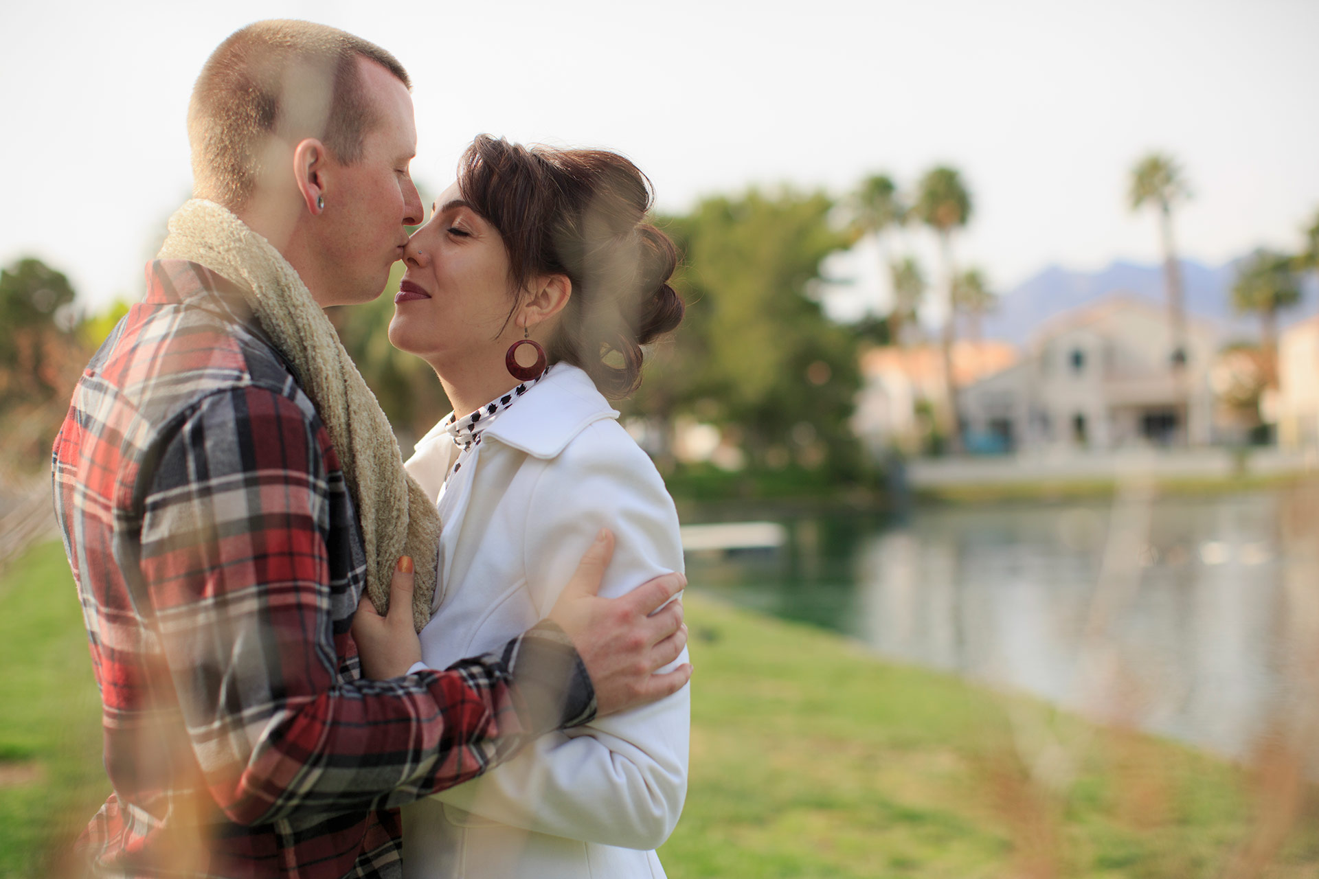 Engagement Photography At Desert Shores Las Vegas