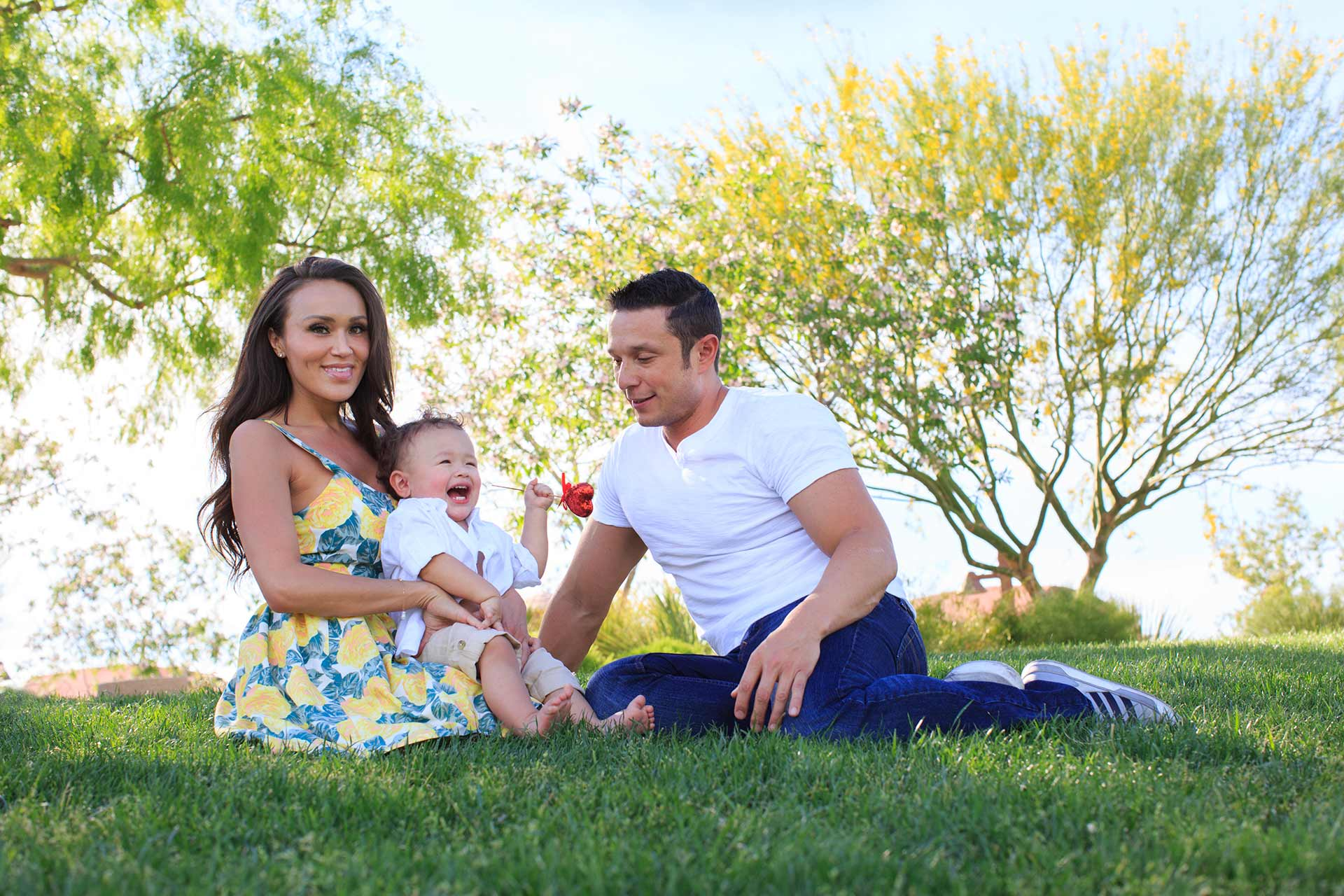 Family Photographer At Exploration Peak Park Las Vegas