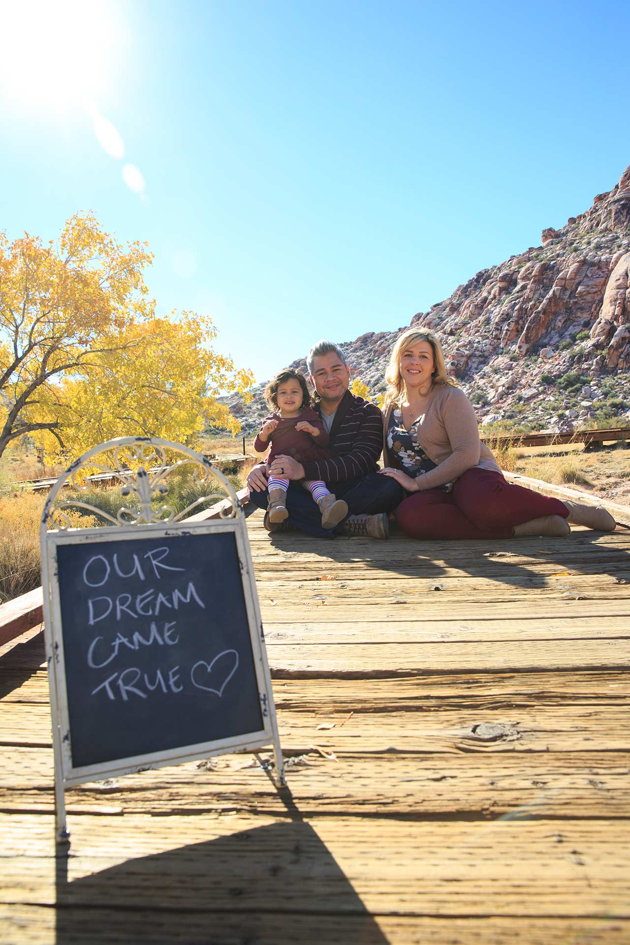 Las Vegas Family Photographer At Calico Basin