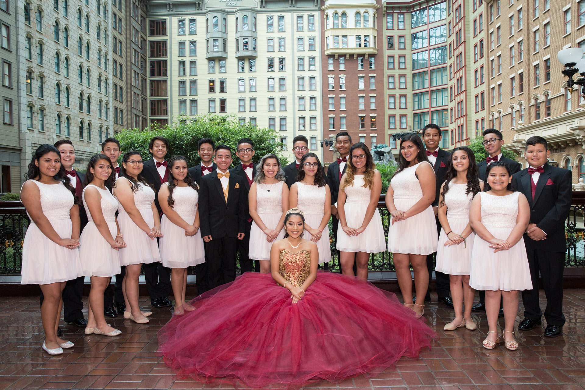 Las Vegas Quinceanera Photographer At Sams Town Hotel And Gambling Hall