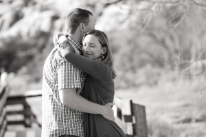 Calico Basin Engagement Photography