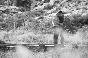 Las Vegas Engagement Photographer at Calico Basin