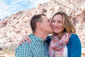 Las Vegas Engagement Photos Red Rock Canyon