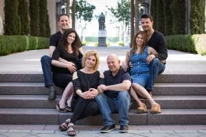 Family Pictures in Smith Center Las Vegas