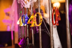Las Vegas 40Th Birthday Decor Photography