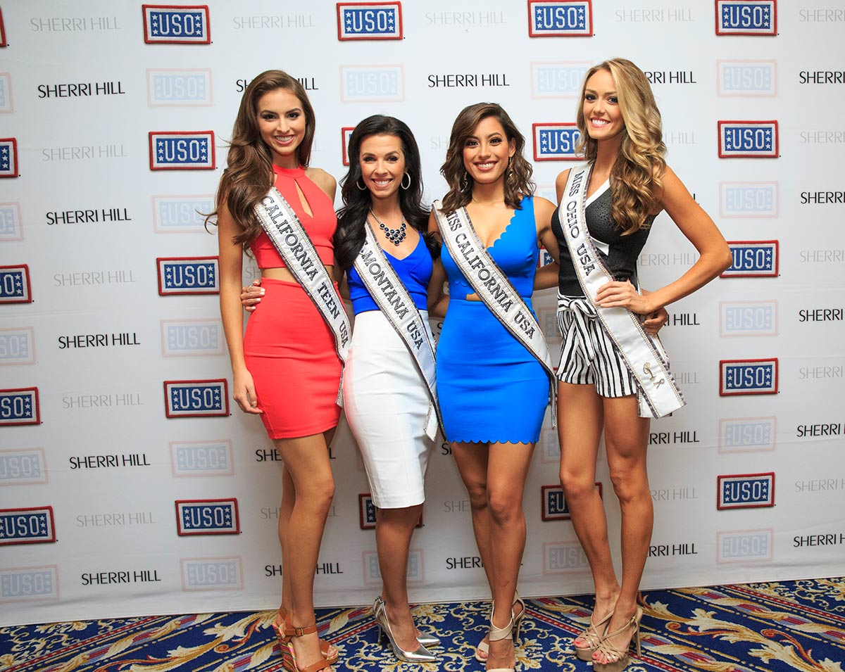 Miss USA Contestants With Miss California Teen 2015