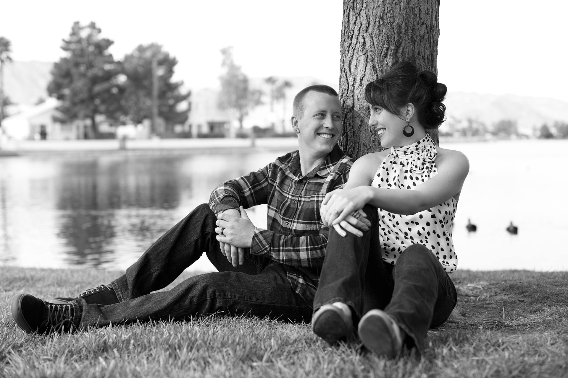 Engagement Photographer At Desert Shores Las Vegas