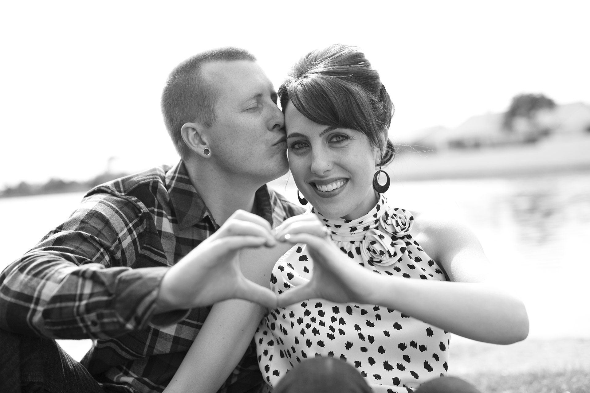 Las Vegas Engagement Photographers At Desert Shores