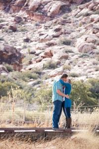 Las Vegas Engagement Photography Calico Basin