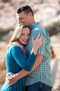Red Rock Canyon Engagement Photos