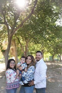 Family Photo Session in Floyd Lamb Park Las Vegas