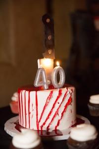 Las Vegas 40Th Birthday Cake Photography