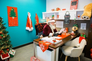 Santa at Western Office 89118